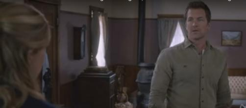 Carson Shepard of 'When Calls the Heart' is confronted by his sister-in-law | Screenshot via Youtube