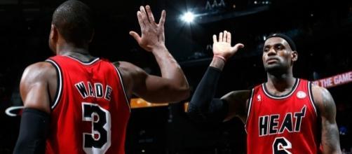Dwyane Wade praised LeBron James - zimbio.com