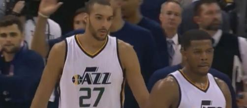 Gobert helps Utah to beat LA Clippers, Youtube, NBA Conference channel https://www.youtube.com/watch?v=DVsuVljJG3o