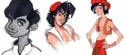 Veja como eram os primeiros rascunhos de alguns personagens da Disney