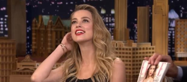 Amber Heard first met Elon Musk in 2013. (via YouTube/The Tonight Show Starring Jimmy Fallon)