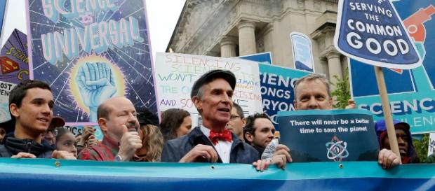 Bill Nye and Fellow Celebrities March on Earth Day - vulture.com