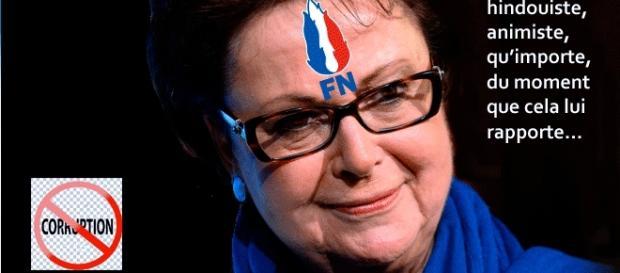 Christine Boutin appelle à voter Le Pen en espérant une cohabitation avec LR qui pourrait continuer à la stipendier