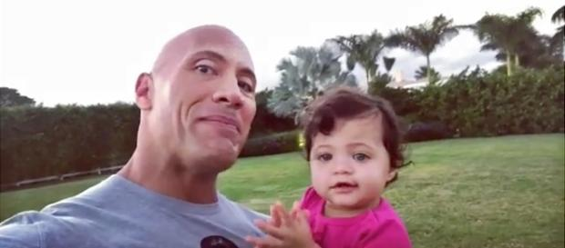 Dwayne Johnson's Daughter Claps as He Sings 'Happy Birthday' - Us ... - usmagazine.com
