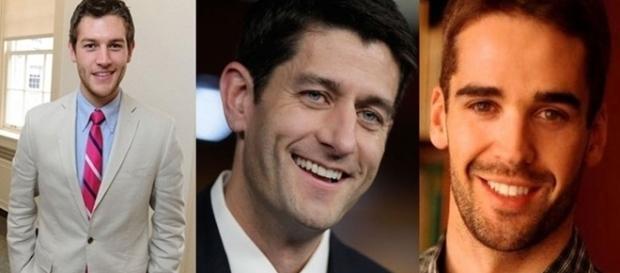 Eles fazem sucesso na política por causa da beleza.