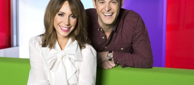 The One Show presenter Alex Jones reveals she's pregnant with her son - thesun.co.uk