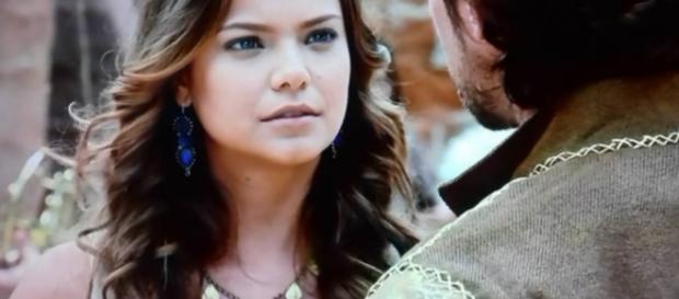 Zac tenta conquistar Joana dizendo que Asher morreu (Foto: Reprodução/Record TV)