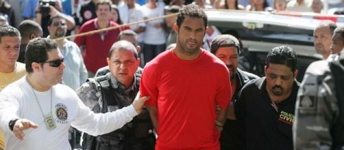 Goleiro Bruno volta para a prisão por decisão do STF