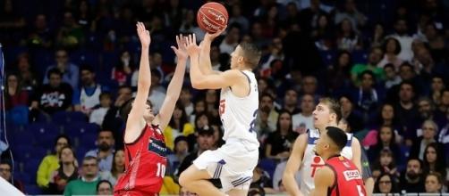 Jaycee Carroll anotó 23 puntos en la victoria ante el Zaragoza. Fuente: ACB.com