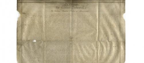 Lost copy of Declaration of Independence found in England ... - democraticunderground.com