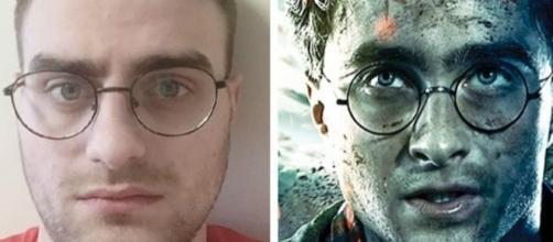 O jovem russo Nikolai, que é sósia de Daniel Radcliffe
