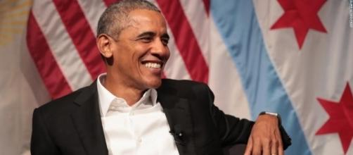 Obama made his return after leaving the White House, and he didn't ... - yahoo.com