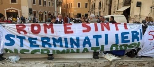 'Sterminati ieri, discriminati oggi', manifestazione di rom e sinti italiani