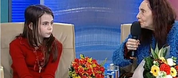 Adriana Iliescu și fiica sa Eliza