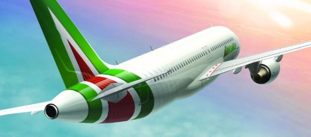 Brand New: New Logo and Livery for Alitalia by Landor - underconsideration.com