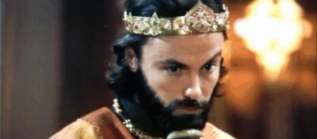 Evil-Merodaque é obrigado a se casar com Shamiran (Foto: Reprodução/Record TV)