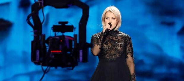 La chanteuse du duo finlandais, Norma John (Photo Andres Putting/EBU)