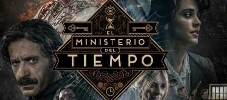 Poster promocional de la tercera temporada de 'El ministerio del tiempo'