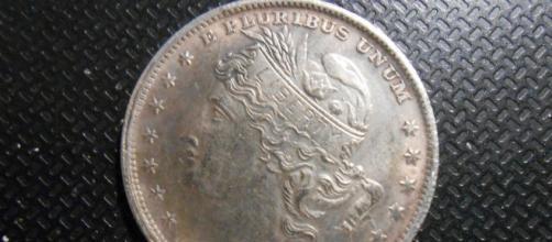 A Fake Morgan Dollar of 1883 made of Nickel