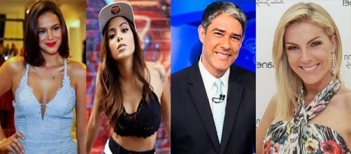 Alguns famosos se evitam ao máximo dentro e fora da TV