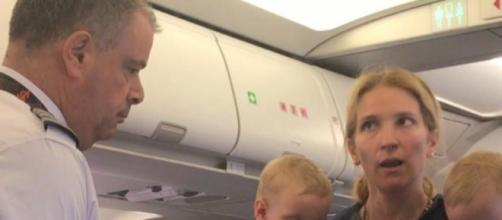 American Airlines flight attendant suspended after stroller ... - aol.com