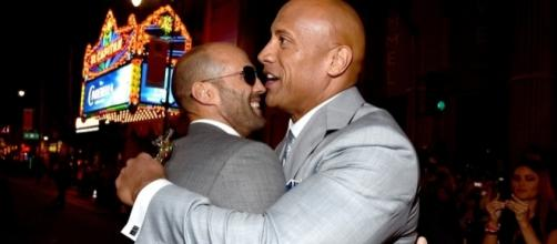 Dwayne Johnson and Jason Statham Photos Photos - Premiere Of ... - zimbio.com