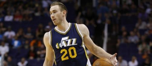 Gordon Hayward helped lead Utah to a Game 5 victory in L.A. [Image via Blasting News image library/inquisitr.com]