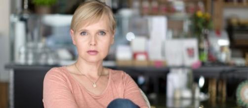 L'attrice tedesca di Tempesta d'amore, Bojana Golenac.