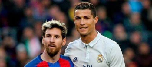 Lionel Messi of FC Barcelona and Cristiano Ronaldo (Photo: Alex Gallardo)