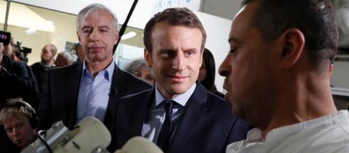 Macron à Amiens avec Marine Le Pen comme invitée surprise