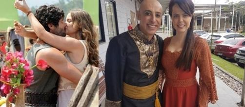 Malca irá apimentar o triângulo amoroso em 'O Rico e Lázaro'