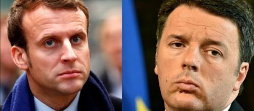 Matteo Renzi è diventato il primo tifoso italiano di Emmanuel Macron