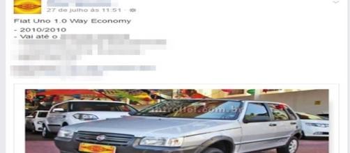 O anúncio épico de um carro anunciado no Facebook