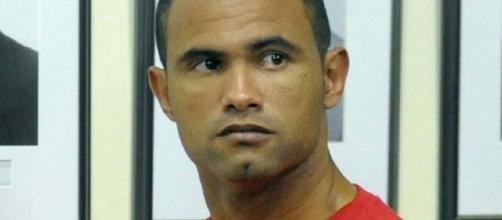 O goleiro Bruno do Boa Esporte Clube, volta à prisão