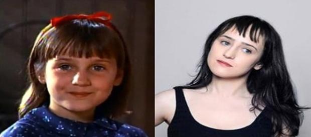 Antes e depois dos atores mirins