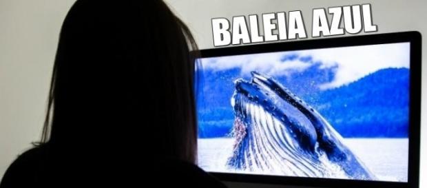 Baleia Azul jogo que está aterrorizando o mundo.
