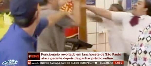 Funcionário se revolta depois de ganhar prêmio