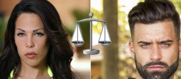 Kim amène Vincent Queijo devant le tribunal après qu'il l'ait agressée physiquement !