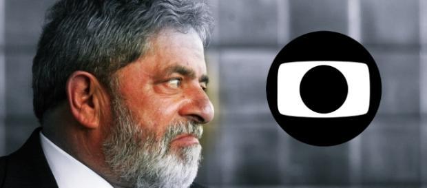 Lula fica irritado e reclama da TV Globo - Google