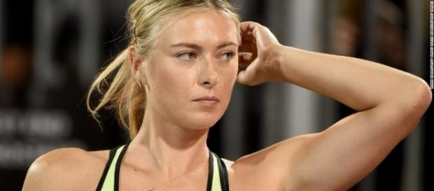Maria Sharapova made her return on Wednesday (Image credit: cnn.com).