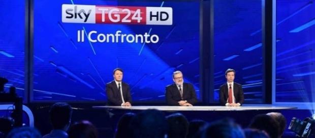 Matteo Renzi, Michele Emiliano e Andrea Orlando