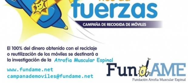 Recogida de móviles para la investigación de Atrofia Muscular Espinal - fundame.net