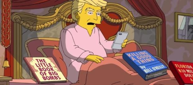 The Simpsons take on Donald Trump's first days in office - com.au