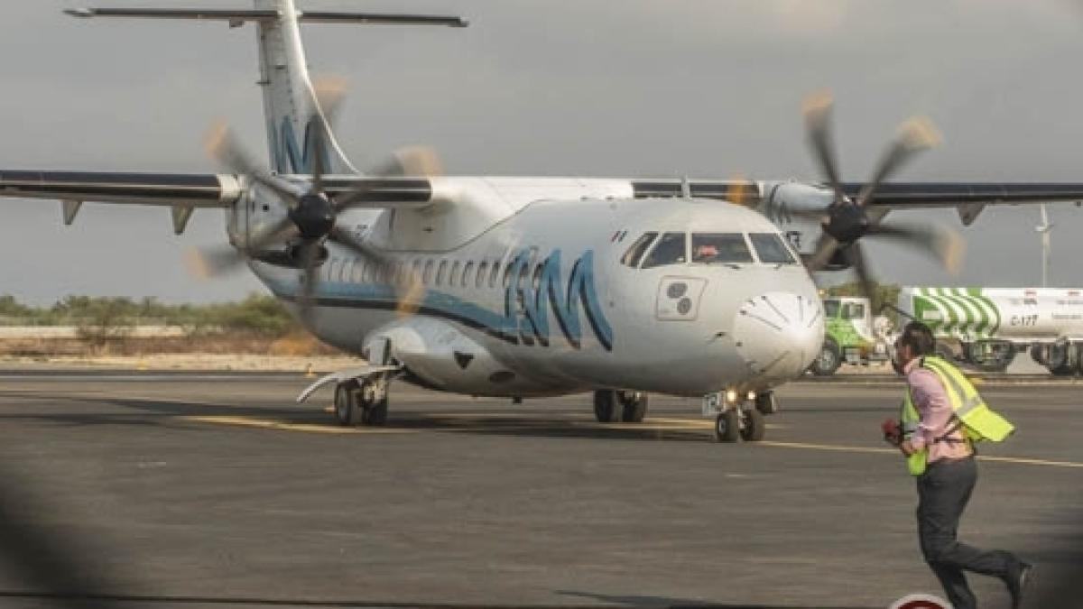 Servicio caro, una sola empresa realiza vuelos en el Istmo