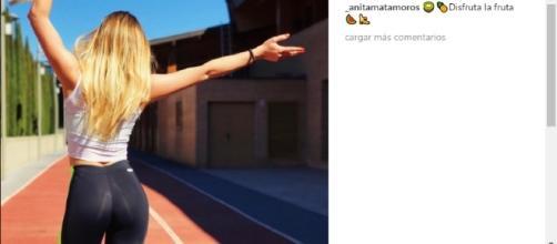 Annita Matamoros, posando en su Instagram.