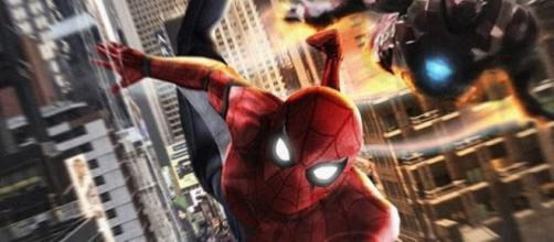 Cool Spider-Man: Homecoming Iron Man Fan Poster - Cosmic Book News - cosmicbooknews.com
