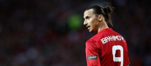 Gesto a sorpresa di Zlatan Ibrahimovic