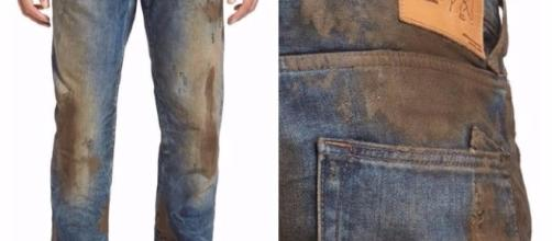Nordstrom's $425 fake-muddy jeans 'embody rugged, Americana ... - pennlive.com