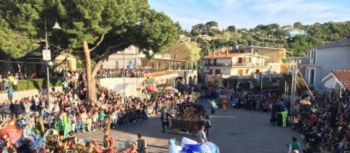 """Palinuro (SA): """"Il Carnevale del Cilento""""."""