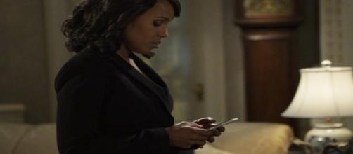 Scandal episode 13,season 6 Olivia screenshot image via Flickr.com